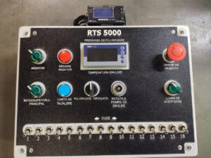 Sterowanie skrapiarki Strassmayr TS Compact